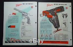 RARE ORIGINAL Dealer Store Catalog Kilgore Toy Cap Guns 1954 Roy Rogers etc