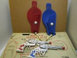 RARE VINTAGE KILGORE FASTEST GUN SET WithBOX COMPLETE
