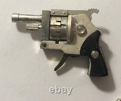 RARE VTG AUSTRIA XYTHOS AUTOMATIC 2MM PINFIRE Revolver WORLD'S SMALLEST CAP GUN