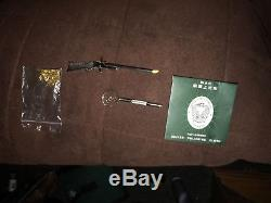 RARE Vintage Austria Xythos 2mm Pinfire Rifle Cap Gun, World's Smallest