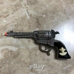 RARE Vintage Hopalong Cassidy Toy Cap Gun Dummy George Schmidt Black Handle