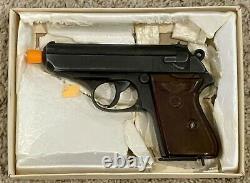 RARE Vintage Japan MGC Bondshop WALTHER PPK PFC Cap Gun Replica Full-Scale Metal