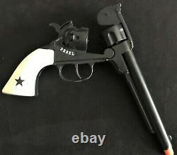 REBEL Johnny Yuma Scattergun, Rebel Cap Gun, Holster, and Bullets