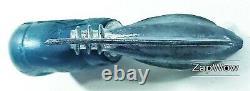 ROCKET WATER PISTOL 1950s Space Ship Ray Gun Die-Cast Metal SciFi Squirt Toy 50s