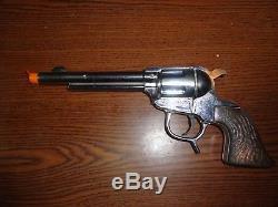 Rare Alan Ladd Shane Circle-A-Bar-L Toy Cap Gun 1950s Schmidt Manufacturing Co