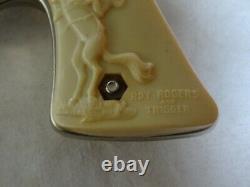 Rare Balantyne Mfg. Co. Roy Rogers Steel 45 Cal Toy Cap Gun Western Pistol