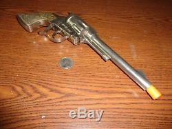 Rare Classy Products Roy Rogers Diecast Automatic Cap Gun c. 1956 N