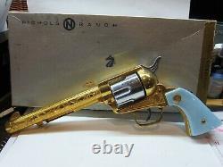 Rare Nichols 24k Gold Stallion 45 Mark II Cap Gun G-45