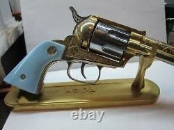 Rare Nichols G45 Gold Cap Gun Original Box