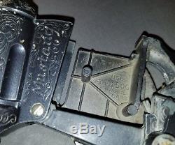 Rare Vintage 1959 Blue Steel Nichols Mustang 500 Cap Gun