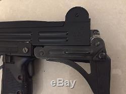 Rare Vintage 70s Japan SMG Marushin Uzi Metal Cap Gun Model Gun
