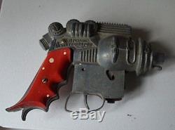 Rare Vintage Atomic Disintegrator (hubley) Toy Cap Gun In Working Condition