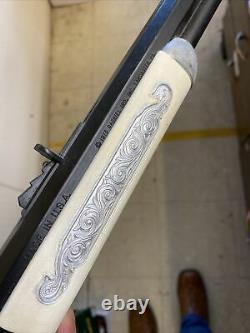 Rare Vintage Hubley Cap Gun Rifle 1873 Winchester Centennial Antique Toy Cowboy