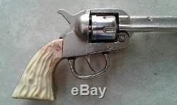 Rare Vintage Long Tom Roy Rogers Kilgore Cast Iron Cap Gun