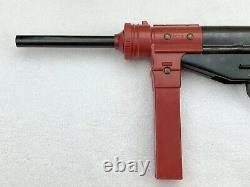 Rare Vintage Mattel Burp Gun Automatic Cap Firing Action In Original Box Toy