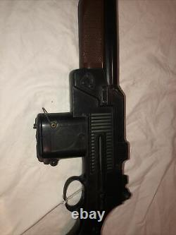 Rare marx vintage us army Automatic battery toy Rifle Cap Gun Mattel