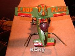 Rare minty Loop plane occupied Japan AIRPLANE with machine gun ORIGINAL make offer