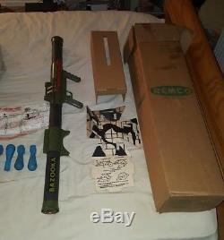 Remco Marine Raider Bazooka Gun 1960s w box
