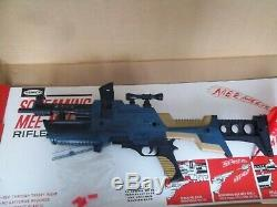 Remco Screaming Mee Mee Rifle gun with box and inserts