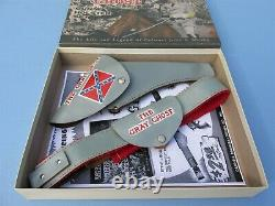 Repro Box Only For CIVIL War Gray Ghost Cap Gun And Holster Set