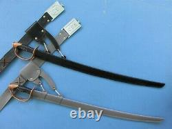 Repro Scabbard And Belt Hanger For Marx CIVIL War Cavalry Cap Gun Holster Set