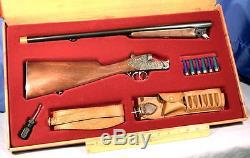 Rifle Set Cap Gun Gift Set Edison Giocattoli Monte Carlo Prestige Set 20600