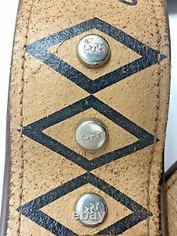 Roy Rogers Childs Belt With Toy Gun Holsters 1950's
