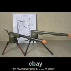 SCARCE 1928 W F Schmidt Wyandotte Toy Machine Gun Cork Gun