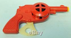 SCARCE VINTAGE 1950's MARX SIREN SIGNAL SHOOTER PISTOL TOY GUN & BOX