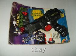 SPACE GUN EDISON GIOCATTOLI SpA. Model ZX271 Blade Runner 1983 RARE CARDED