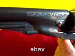 Scarce Nichols Model 61 Diecast Cap Gun (near Mint)