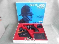 Scotland Yard Mebetoys Giocattolo Gun Vintage Toy