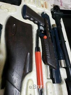 Secret Sam 1965 Spy Attache Case Topper Toys Complete! James Bond HTF TOY GUN