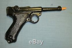 Solid Cast Aluminum Gun Replica German Luger P08 Not a Cap Gun, Not a Toy