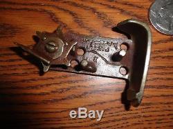 Super Rare Kilgore Police Bakelite & Cast Iron Automatic Cap Gun c. 1940 Q