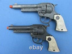 Superb Keyston Bros. Vintage Cap Gun Holster Rig Restored With Texan Jr. S