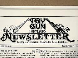 TOY GUN PURVEYORS NEWSLETTER Complete Set 16 Issues 1989 1993