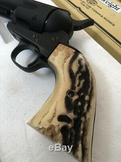Tanaka Works Colt SAA 2nd Gen 4 3/4 inch HW model gun Cap Gun