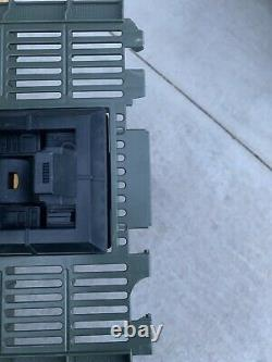 The GENERAL Vintage 1990 GiJoe ARAH Mobile Strike Headquarters with Helicopter Toy