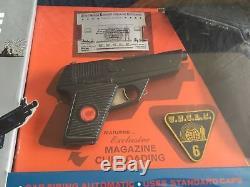 The Man From UNCLE Secret Service Gun IDEAL Vintage