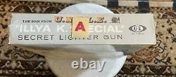 The Man From U. N. C. L. E Secret Lighter Gun in Original 1966 Packaging