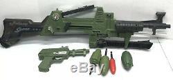 Topper Johnny Seven OMA One Man Army Toy Cap Gun Pistol Grenade Missile Vintage
