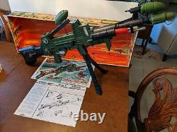 Topper Johnny Seven One Man Army Both Guns, Ammo, Bombs, Shadow Box Poster