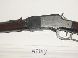 Toy Cap Gun- Vintage 1950s Mattel Winchester Saddle Gun Cap Rifle