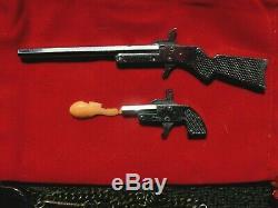 Toy Little Atom Worlds Smallest Rifle & Little Atom Pistol Gun Fob Pinfire 2mm