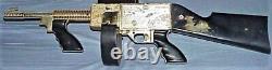 Ultra Rare Vintage 1950's Nichols F-500 Fury Toy Cap Machine Gun, Used, Works