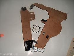 Unusual 1950s Actoy RESTLESS GUN Pistol Holster & Barrel Extension stock rifle