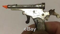 Unusual Shape Rare Vintage Miniature Cap Gun Fob Charm Austria
