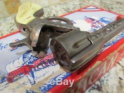 VINTAGE 1940's KILGORE THE AMERICAN CAP GUN BOXES HALCO STEVENS