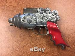 VINTAGE 1950's HUBLEY ATOMIC DISINTEGRATOR DIE CAST CAP GUN No. 270 VERY RARE